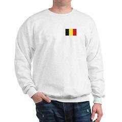 Belgian Flag Sweatshirt
