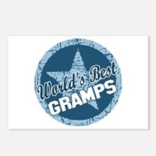 Worlds Best Gramps Postcards (Package of 8)