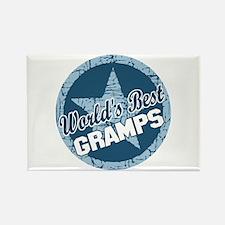 Worlds Best Gramps Rectangle Magnet