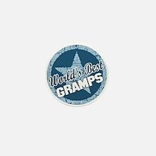 Worlds Best Gramps Mini Button