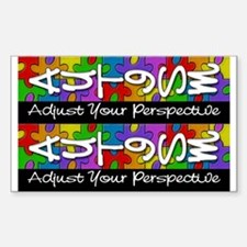 Adjust Your Perspective Sticker (2 for 1)