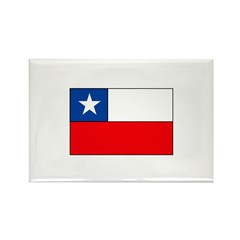 Chilean Flag Rectangle Magnet (10 pack)
