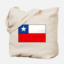 Chilean Flag Tote Bag