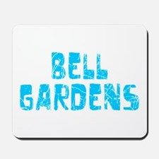 Bell Gardens Faded (Blue) Mousepad