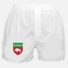 Buffalo Italian Crest Boxer Shorts