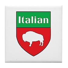Buffalo Italian Crest Tile Coaster