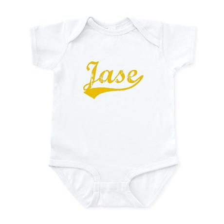 Vintage Jase (Orange) Infant Bodysuit