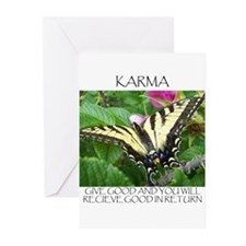 Butterfly Karma Greeting Cards (Pk of 20)