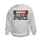 Warning Kids Sweatshirt