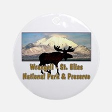 Wrangell - St. Elias National Ornament (Round)