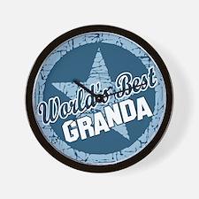 Worlds Best Granda Wall Clock