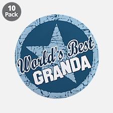 """Worlds Best Granda 3.5"""" Button (10 pack)"""