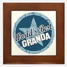 Worlds Best Granda Framed Tile