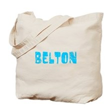 Belton Faded (Blue) Tote Bag