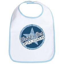 Worlds Best Granddad Bib