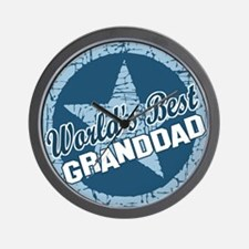 Worlds Best Granddad Wall Clock