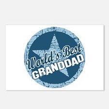 Worlds Best Granddad Postcards (Package of 8)