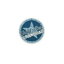 Worlds Best Granddad Mini Button (10 pack)