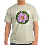 California Wild Rose Ash Grey T-Shirt