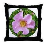 California Wild Rose Throw Pillow