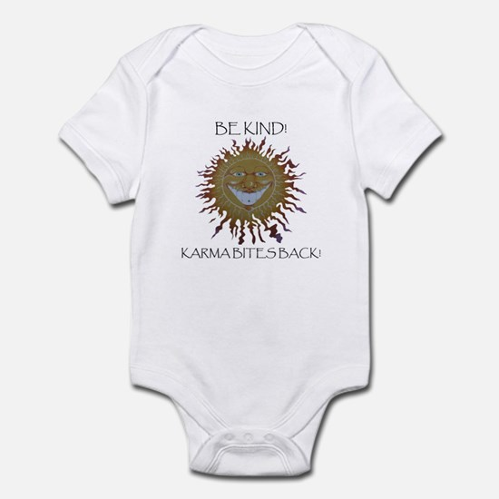 Karma Sun Face Infant Bodysuit
