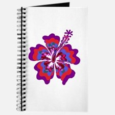 Psychedelic Hibiscus Journal
