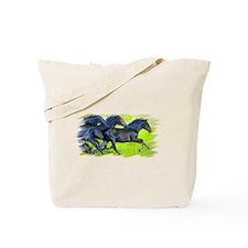 Cute 2008 horse Tote Bag