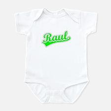 Retro Raul (Green) Infant Bodysuit