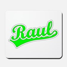 Retro Raul (Green) Mousepad