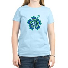 Psychedelic Hibiscus T-Shirt