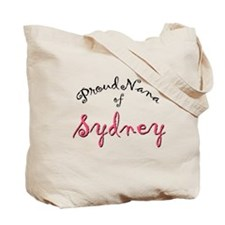 """Proud Nana of Sydney"" tote bag"