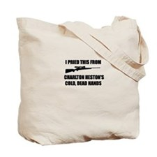 Chuck's Gun Tote Bag