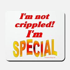 Not Crippled Mousepad