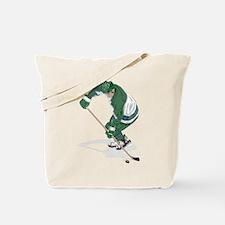 Hockey Player Tote Bag