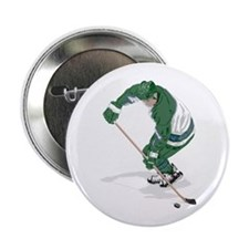 "Hockey Player 2.25"" Button"
