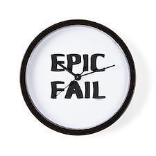 Epic Fail Wall Clock