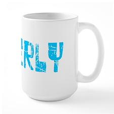Beverly Faded (Blue) Mug
