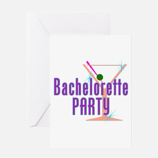 Bachelorette Party Cocktail Greeting Card