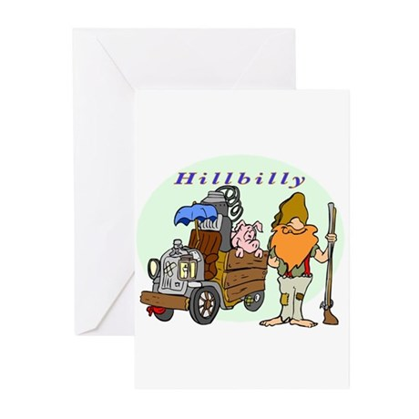 Hillbilly Greeting Cards (Pk of 10)