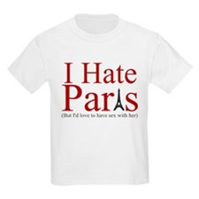 PARIS HILTON SEX SHIRT I HATE T-Shirt