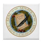 California Senate Tile Coaster