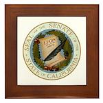 California Senate Framed Tile