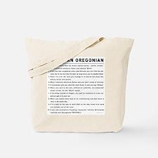 You're an Oregonian Tote Bag