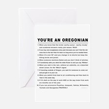 You're an Oregonian Greeting Card