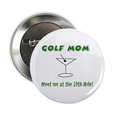 "Golf Mom - 2.25"" Button"