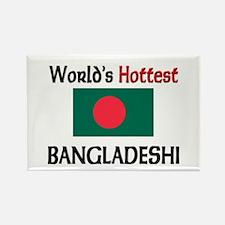 World's Hottest Bangladeshi Rectangle Magnet