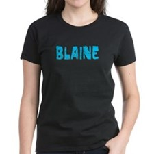 Blaine Faded (Blue) Tee