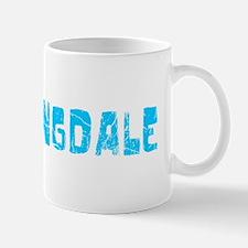 Bloomingdale Faded (Blue) Mug