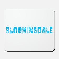 Bloomingdale Faded (Blue) Mousepad