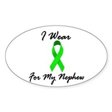 I Wear Lime Green For My Nephew 1 Decal